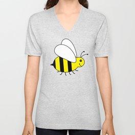 Bumble Bee Pattern Unisex V-Neck
