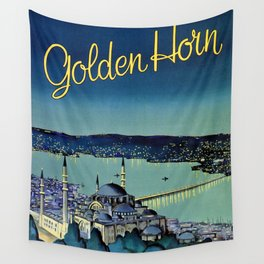 Golden Horn Istanbul Wall Tapestry