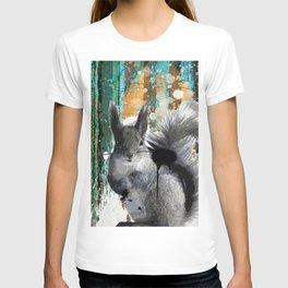 Cheeky Industrious Squirrel  T-shirt