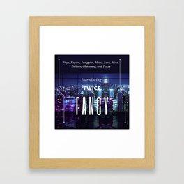 introducing: fancy Framed Art Print