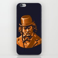 beethoven iPhone & iPod Skins featuring Bratchny Beethoven by Torekdg