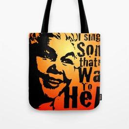 In Memory Of Etta James Tote Bag