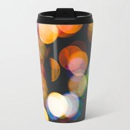 Defocused christmas lights Travel Mug