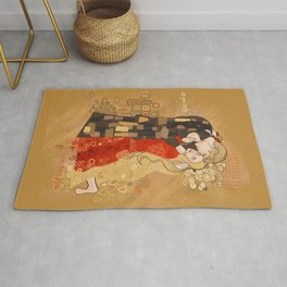 The Invention of the Kiss Rug