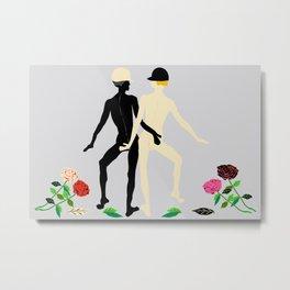 Dancers Especial Metal Print