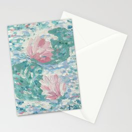Ninfee. Waterlilies. Nynphéas Stationery Cards