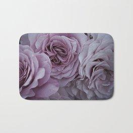 Dusky Roses Bath Mat