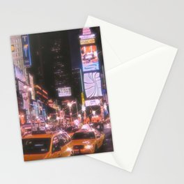 Times Square New York City Stationery Cards