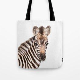 Baby Zebra Tote Bag