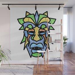 Tribal Warrior Design Wall Mural
