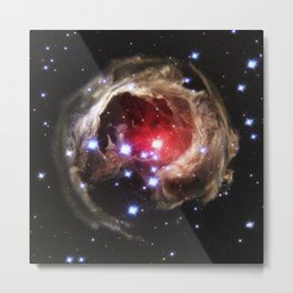 Echo - space matters Metal Print
