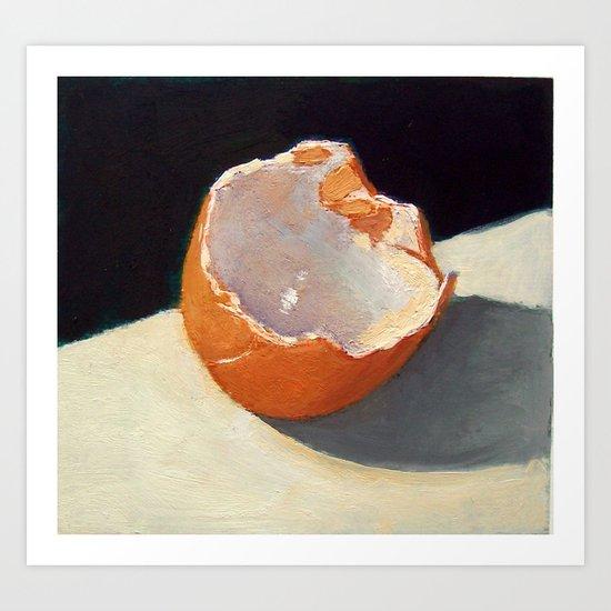 Egg Shell Art Print