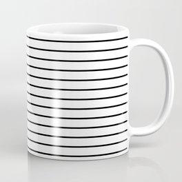 Minimalist Stripes Coffee Mug