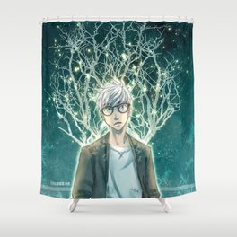 your fun is my light Shower Curtain