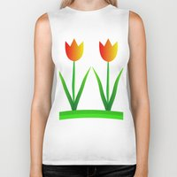 discount Biker Tanks featuring Young at heart by Roxana Jordan