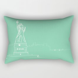 New York by Friztin Rectangular Pillow