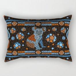 Aboriginal Dot Art Koala Bear-color Rectangular Pillow