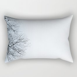Birds in trees Rectangular Pillow