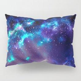 Abstract Nebula #2: Blue Pillow Sham