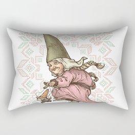 Gnome Puppeteer Rectangular Pillow