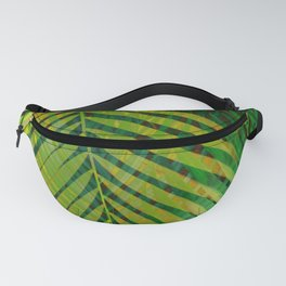 TROPICAL GREENERY LEAVES no2 Fanny Pack