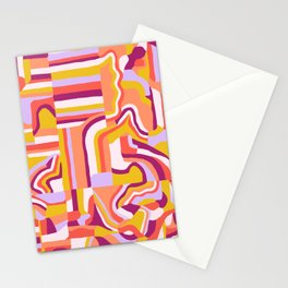 LOLA, Geo Abstract Stationery Cards