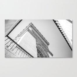 Champs-Élysées Canvas Print