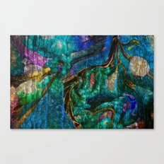 A  Zazzle Of an Abstract by Sherri Of Palm Springs Canvas Print