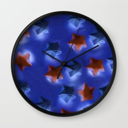 Dark Nova Wall Clock