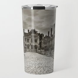 Vicars Close In The City Of Wells Travel Mug