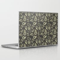 paisley Laptop & iPad Skins featuring Paisley by Sixter