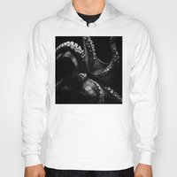 octopus Hoodies featuring Octopus by Bella Blue Photography