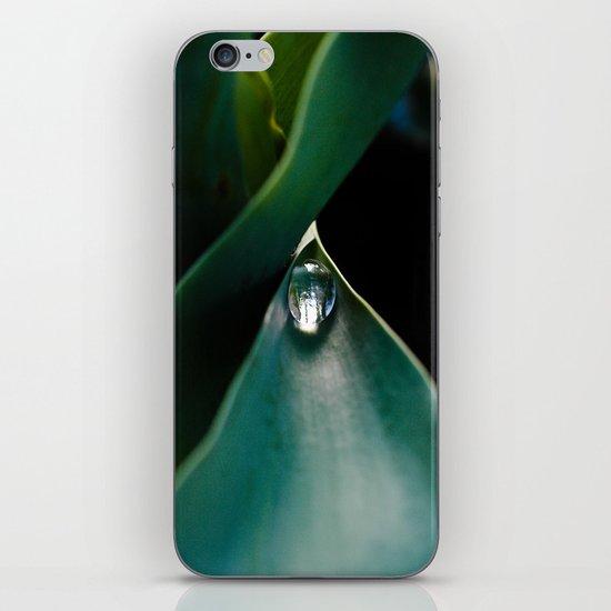 A drop caught iPhone & iPod Skin
