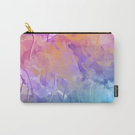 Pastell leaves Carry-All Pouch