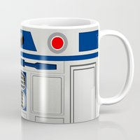 targaryen Mugs featuring R2D2 by Smart Friend