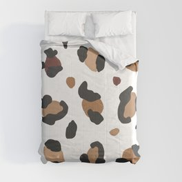 454-Cute leopard hand drawn pattern Comforters