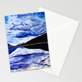 Road Trip Blues Stationery Cards
