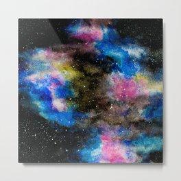 Cotton Candy Galaxy Metal Print