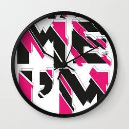 Hire me Wall Clock