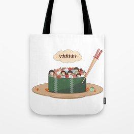 Yokai Sushi Tote Bag