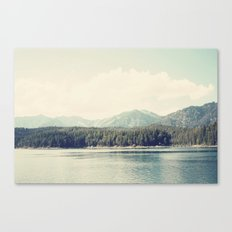 in the shadow of the alps ...  Canvas Print