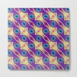 The Nuclei - Colorway 2 Metal Print