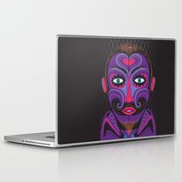 clown Laptop & iPad Skins featuring Clown by charker