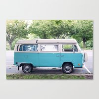 vw Canvas Prints featuring VW by myhideaway