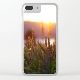 The Sunset Clear iPhone Case