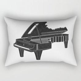 Music Is The Key B Rectangular Pillow