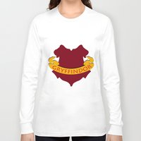 gryffindor Long Sleeve T-shirts featuring Gryffindor by konchoo