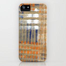 Street Plaid iPhone Case