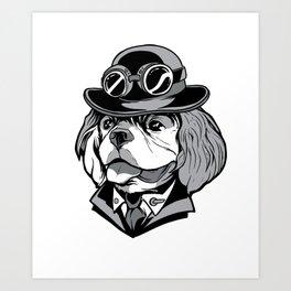 Cavalier Dog Art Print
