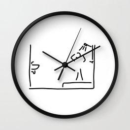 bath shower Wall Clock